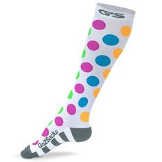 Go2 Compression Socks for Women and Men Athletic Running Socks for Nurses Medical Graduated Nursing Compression Socks for Travel Running Sports Socks!! (poka dot, M) - http://womensoutdoorrecreationsocks.shopping-craze.com/index.php/2016/04/17/go2-compression-socks-for-women-and-men-athletic-running-socks-for-nurses-medical-graduated-nursing-compression-socks-for-travel-running-sports-socks-poka-dot-m/