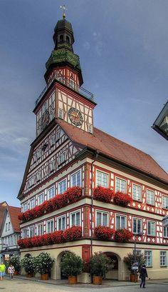 Town Hall - Kirchheim unter Teck, Baden-Wurttemberg