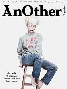 Michelle Williams by Willy Vander perre for AnOther Magazine #24, March 2013.