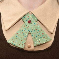 Womens Neck Tie  Retro Green  Geometric Shapes by flappergirl, $18.00