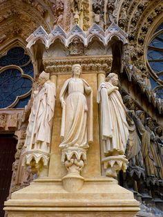Reims Cathedral, Versailles, Statue, Paris, Montmartre Paris, Paris France, Sculpture