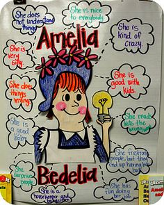 learning about Amelia Bedelia and cause and effect    Step into 2nd Grade with Mrs. Lemons: Amelia Bedelia