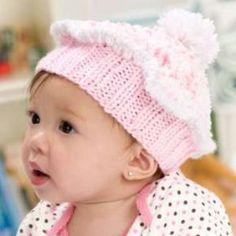 Whimsical Knit Cupcake Hat