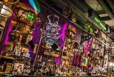 la Joben Bistro, un loc desprins din cărțile lui Jules Verne Jules Verne, Times Square, Travel, Viajes, Destinations, Traveling, Trips