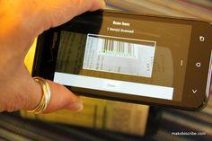 Scanning For Shopping at Walgreens & saving money using the #balancerewards app
