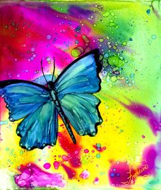 Free Online Class: Alcohol Inks Basics Welcome To This Free Class. I Am  Testing