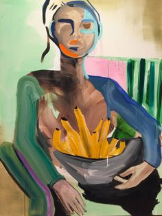 Erin Armstrong. The Gallant  Pluck. Acrylic on canvas, 2017