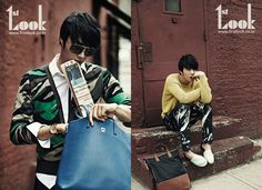 Jung Il Woo knows how to accessorize.