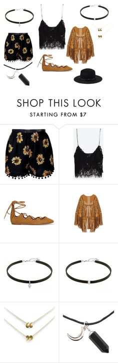 """Coachella ins"" by projekttrool on Polyvore featuring moda, Zara, Isabel Marant i Forever 21"