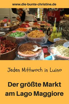 Luino on Lake Maggiore: trip to the market on Wednesday Camping Holiday, Reisen In Europa, Travel Activities, Places Of Interest, Vacation Trips, Italy Travel, Time Travel, Tuscany, Travel Destinations