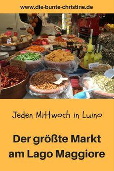 Jeden Mittwoch in Luino: Der größte Markt am Lago Maggiore