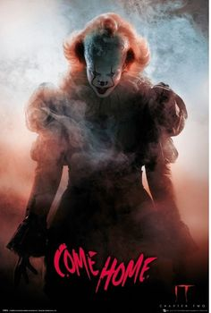 Free Watch It Chapter Two : Online Movies 27 Years After Overcoming The Malevolent Supernatural Entity Pennywise, The Former Members Of The. Clown Pennywise, Pennywise Film, Pennywise The Dancing Clown, Two Movies, Scary Movies, Horror Movies, Horror Villains, Geek Movies, Bill Skarsgard Pennywise