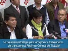 Con la Reforma del Transporte Público, los trabajadores de este servicio pasarán a planilla