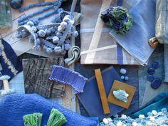 Ocean Deep Blue Mood Board, take II, See more inspirations at http://www.brabbu.com/en/inspiration-and-ideas/ #MoodBoardIdeas #MoodBoardDesign #MoodBoardFashion