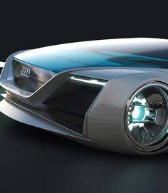 """The Audi Design Team has developed an entirely virtual car for Summit Entertainment's film adaptation of the award-winning, best-selling novel """"Ender's Game"""". This car is SO COOL!"""