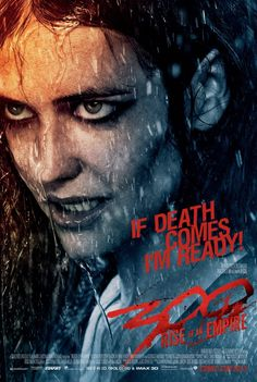 300: Rise of an Empire. Will this chick make the grade or will she get cut...can't wait to see.