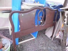Guest Post: How to Build a Bench Using an Old Headboard