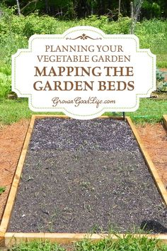 Planejando a Horta: Mapeando o As camas do jardim  Antes de semear uma única semente, é útil para esboçar um mapa do jardim para que você saiba quantas mudas você vai precisar, onde serão plantadas, e como você pode manter a produção de cada cama durante toda a estação de crescimento. | Mapeamento dos canteiros do jardim | Cresça uma boa vida
