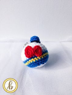 Mickey mouse ornament free crochet pattern at sketchy honu people also love these ideas disney donald duck keychain handmade cute amigurumi crochet disney lover gift for solutioingenieria Gallery