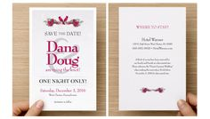 Save-the-Date design and layout. Save The Date Designs, Marketing Professional, Tie The Knots, First Night, Creative Design, Dating, Layout, Tying The Knots, Page Layout