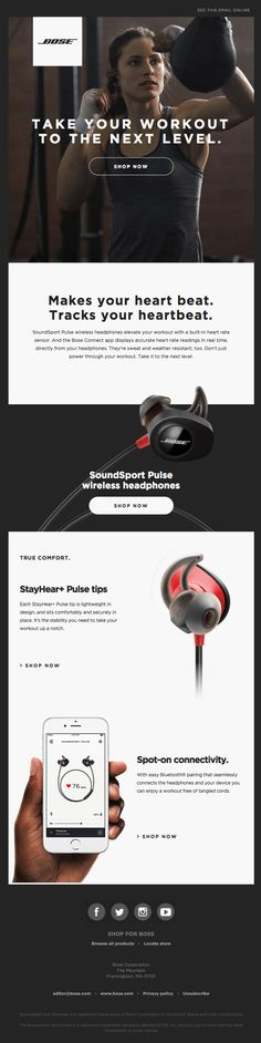 7 Inspiring Minimalistic Email Designs to Spice Up Your Email Campaign - The Social Media Hat Edm Template, Email Templates, Mailer Design, Email Layout, Email Newsletter Design, Email Design Inspiration, Responsive Email, Email Client, Best Email