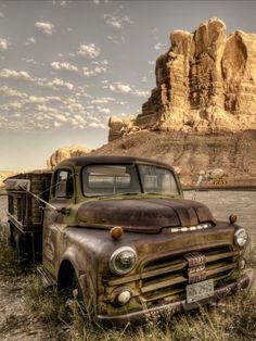 Old Dodge Truck. Bluff Utah. Source Plus.google.com