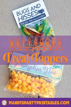 Halloween Treat Topp