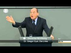 On Ukraine and Crimea crisis, Gregor Gysi (The Left), subtitled.