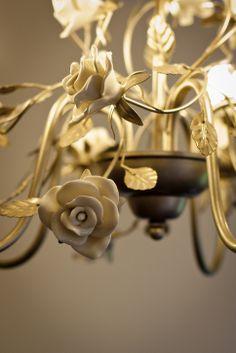 Interior design chandelier
