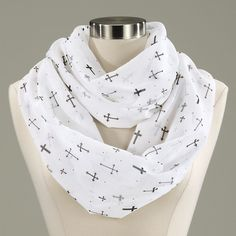 Crosses Infinity Scarf - Best Selling Gifts, Clothing, Accessories, Jewelry and Home Décor FROM CATALOG FAVORITES