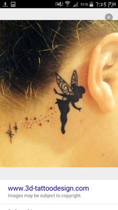 tattoos ear behind * tattoos ear . tattoos ear behind . tattoos ear behind the . Body Art Tattoos, New Tattoos, Small Tattoos, Phoenix Tattoos, Small Fairy Tattoos, Gemini Tattoos, Arrow Tattoos, Tribal Tattoos For Women, Tribal Tattoo Designs