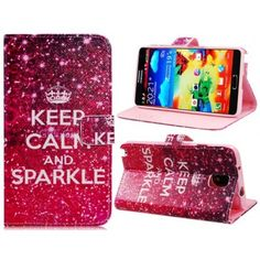 Keep Calm and Sparkle Samsung Galaxy Note 3 Case