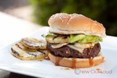 "Hawaiian Teriyaki Burger: Sauteed mushrooms and havarti cheese with ""home made"" teriyaki sauce."