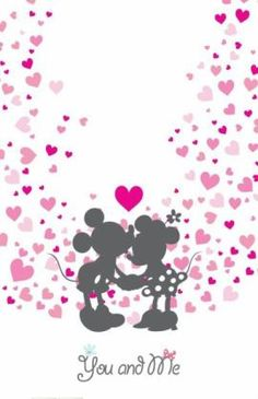 Minnie y Mickey Arte Do Mickey Mouse, Mickey And Minnie Love, Mickey Mouse And Friends, Disney Mickey, Disney Art, Minnie Mouse Pictures, Disney Pictures, Mickey Mouse Wallpaper, Disney Wallpaper
