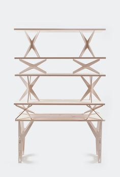 Modular Shelving System by Dopludo Collective | A R T N A U