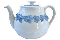 Wedgwood Queensware Teapot on OneKingsLane.com