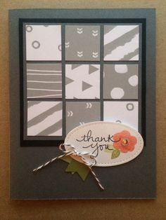 Stampin Up Paper Pumpkin December 2016 alternative by Pat McG.