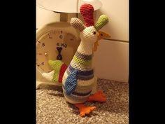 DIY Häkeln  Huhn Ostern Dekoration