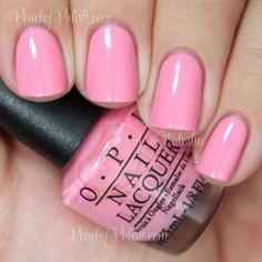 OPI Chic From Ears To Tail | Peachy Polish