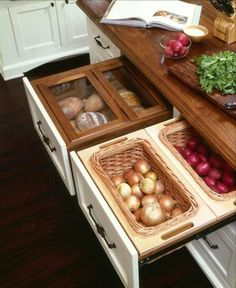 Great kitchen drawer system