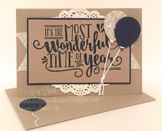 Stampin' in the Sand: Card: Stampin' Up! Wonderful Year Birthday; Stampin Up; Wonderful Year stamp set