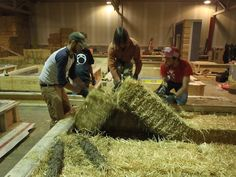 This week the Endeavour class spent a day at the facilities of NatureBuilt Wall Systems, where we assisted with the construction of some of the Bio-SIP walls that will be used in Canada's Greenest Home. The Bio-SIPs are largely identical to the load-bearing straw bale walls that have been used since the first straw bale …