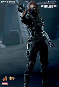 Captain America 2: Winter Soldier, Voll bewegliche Deluxe-Figur ... http://spaceart.de/produkte/cam001.php