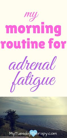 Do some of these every morning to give your adrenals a boost. | Adrenal Fatigue Treatments | HPA Axis Dysfunction | Väsymys | #adrenalfatigue  | via @www.pinterest.com/mytuestherapy #chronicfatigue #fibromyalgia
