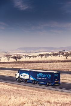 Efficiency. It's what drives us.™ #trucks #tautliner #freight