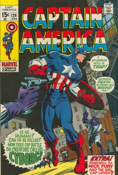 Cover for Captain America (Marvel, 1968 series) #124