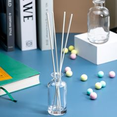 simple and atmospheric,are you interested in? Glass Diffuser, Aromatherapy, Bottle, Simple, Flask, Jars