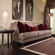 The essentials of this home are indeed made superb by @turri_madeinitaly. The crisp nude colour couches and the contrast cushions are pure glamour and sheer drapery is indeed sophisticated.This unique living room set with richly adorned surroundings and wonderful textures walls give all the glamour to this living area making it a simple yet classic.  #luxurydesign #italianfurniture  #interiordesign #LuxuryLiving #luxury #HomeDecor #italiandesign #LuxuryFurniture #Drape #ElegantDecor Italian Furniture, Luxury Furniture, Living Room Sets, Living Area, Modern Sofa, Luxury Living, Textured Walls, Love Seat, Couches