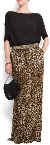 Palazzo Trousers - Lyst