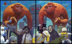 Select Works of Aaron Jasinski's art